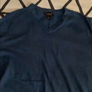 Teal Banana Republic V Neck Sweater